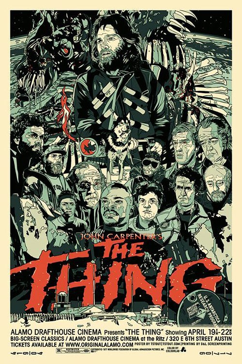 Movie posters by Tyler Stout