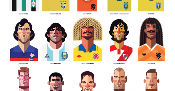 Playmakers portraits by Daniel Nyari