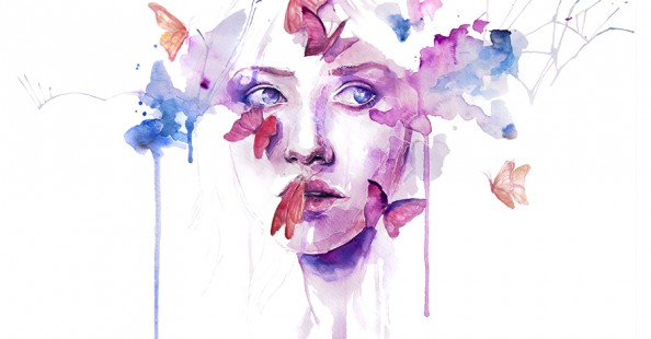 Incredible paintings by Silvia Pelissero aka agnes-cecile