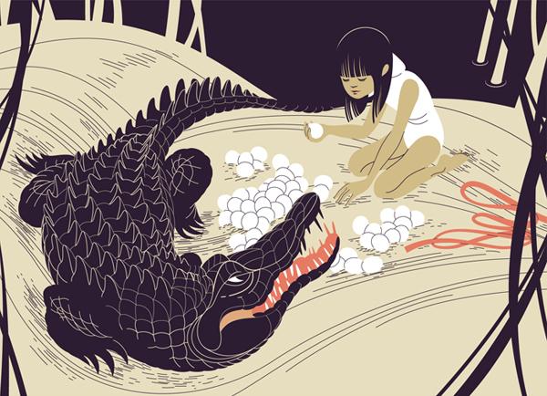 Amazing illustrations by Gloria Pizzilli