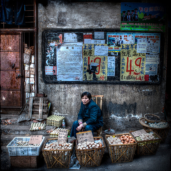 Street Vendors by Michael Steverson