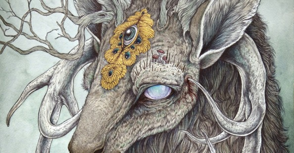 Anthropomorphic Creatures by Caitlin Hackett