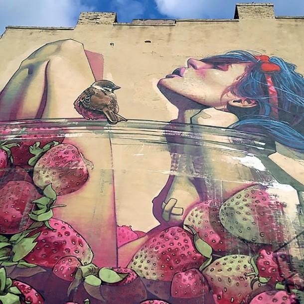 ETAM CRU - New amazing mural in Richmond, USA