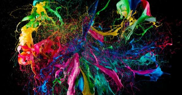 """Liquid Jewel"" by Fabian Oefner"