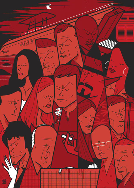 Movies and TV series posters by Ale Giorgini