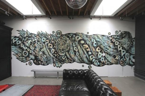 Tristan Eatons murals