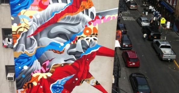 Tristan Eaton's murals
