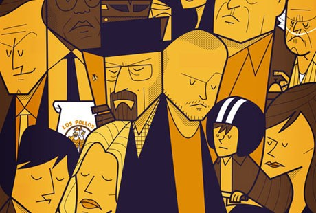 Movies and TV series' posters by Ale Giorgini