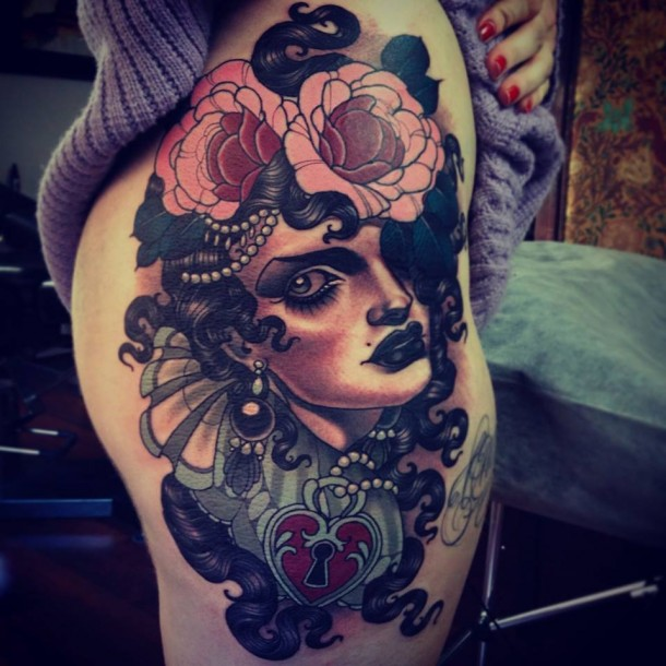 Spectacular tattoos by Emily Rose Murray