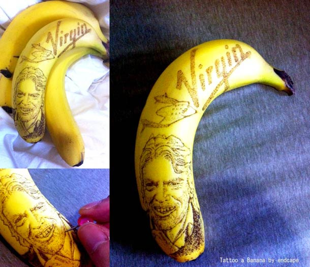 Tattoo a Banana by End Cape