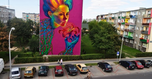 Big murals by Natalia Rak