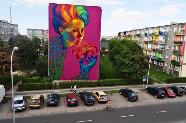 Big murals by Natalia Rak