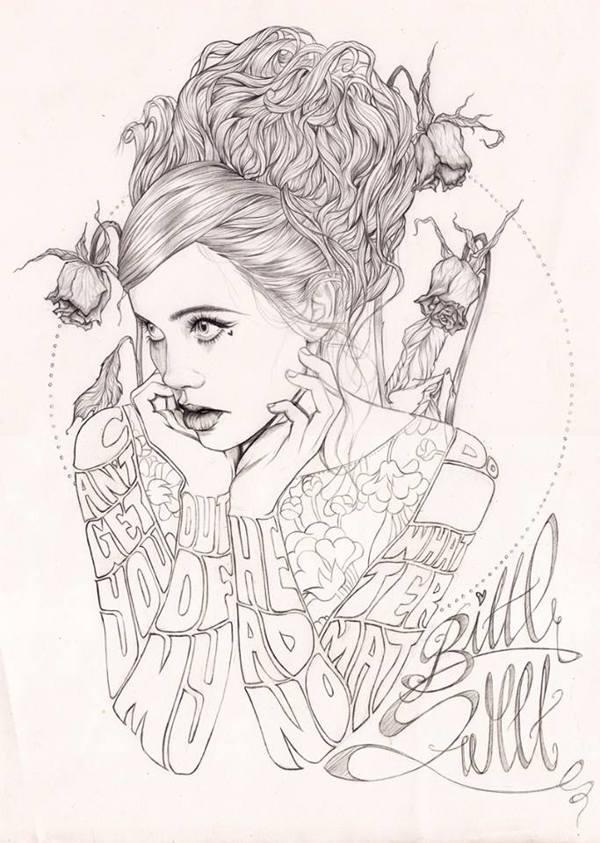 Miss Led's artworks