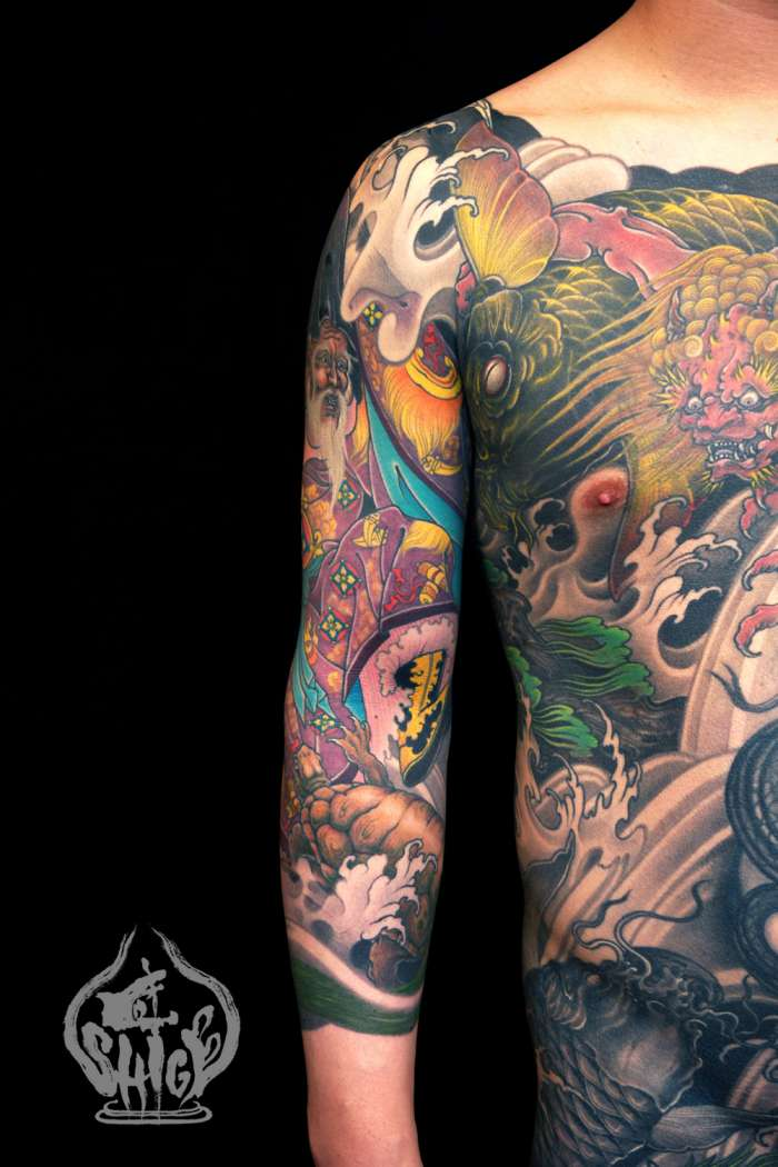 Body tattoos by SHIGE