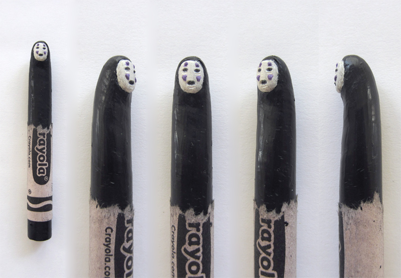 Stunning Crayon Sculptures by Hoang Tran