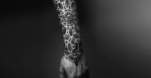 Impressive black ink tattoos by Yaroslav Gorbunov