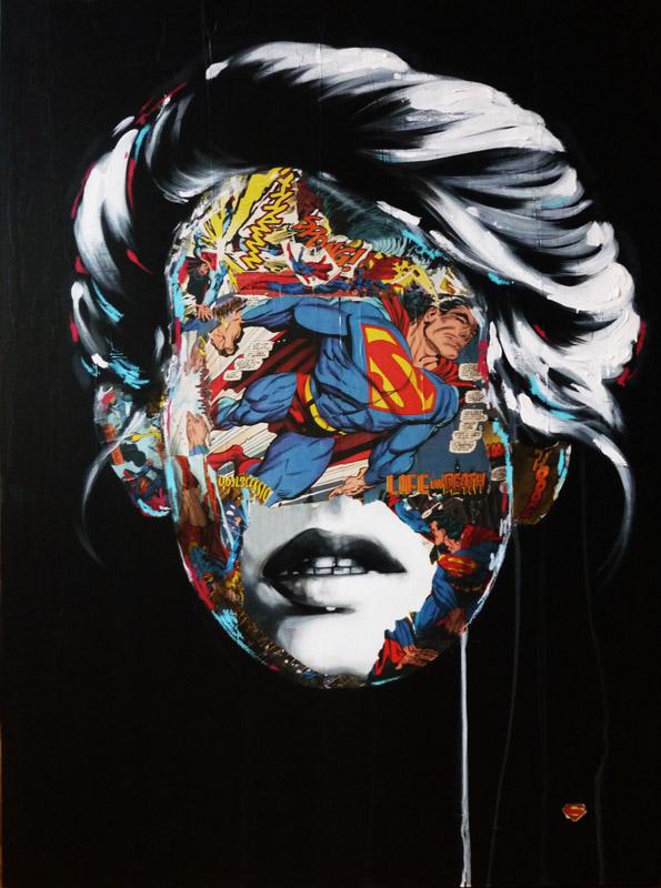 La Cage entre la vie et la mort, 30X40, 2013