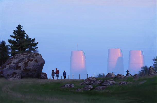 Sci Fi by Simon Stålenhag
