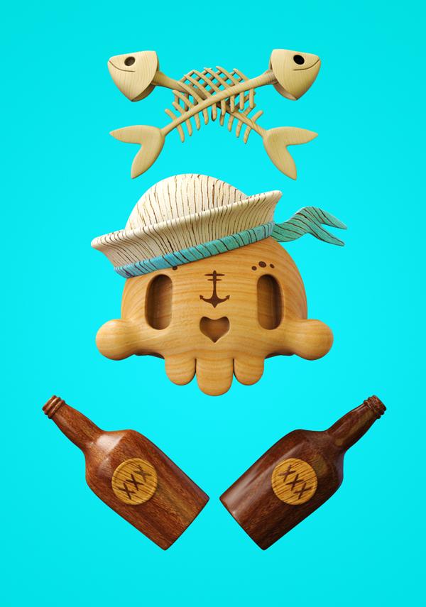 Impressive 3D illustrations by Teodoru Badiu