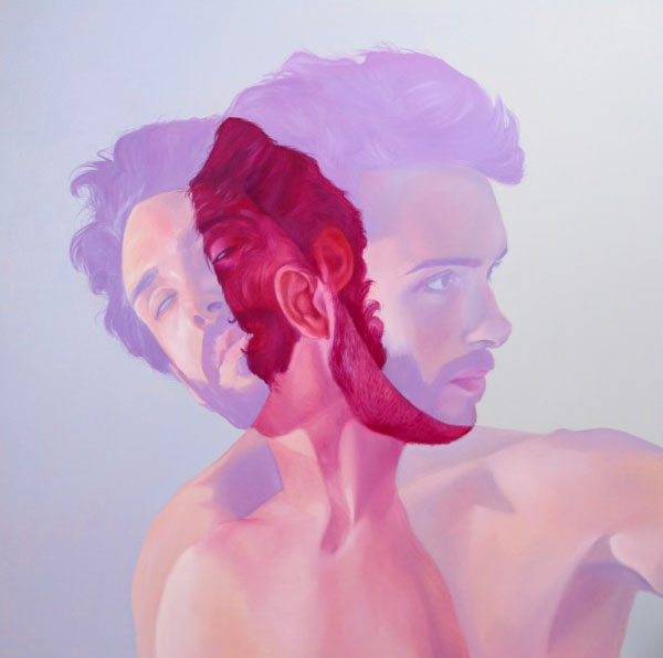 Bubblegum paintings by Jen MannBubblegum paintings by Jen Mann