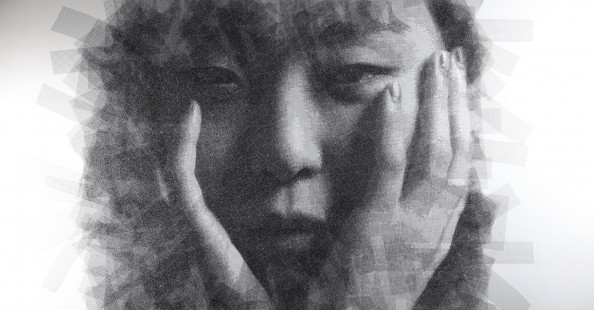 """""""Maya"""" unbelievable wire portraits series by Seung Mo Park"""