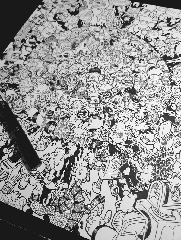 Beautiful Doodle Art by Lei Melendres