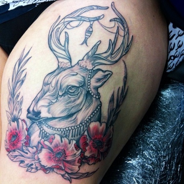 Wonderful tattoos by Nomi Chi