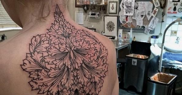 Stunning black tattoos by Kieran Williams