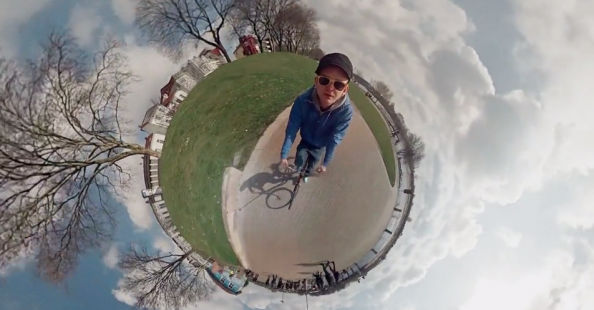 360° video with 6 GoPro cameras by Jonas Ginter