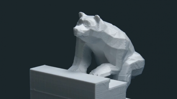 3D printed stop motion video by DBLG