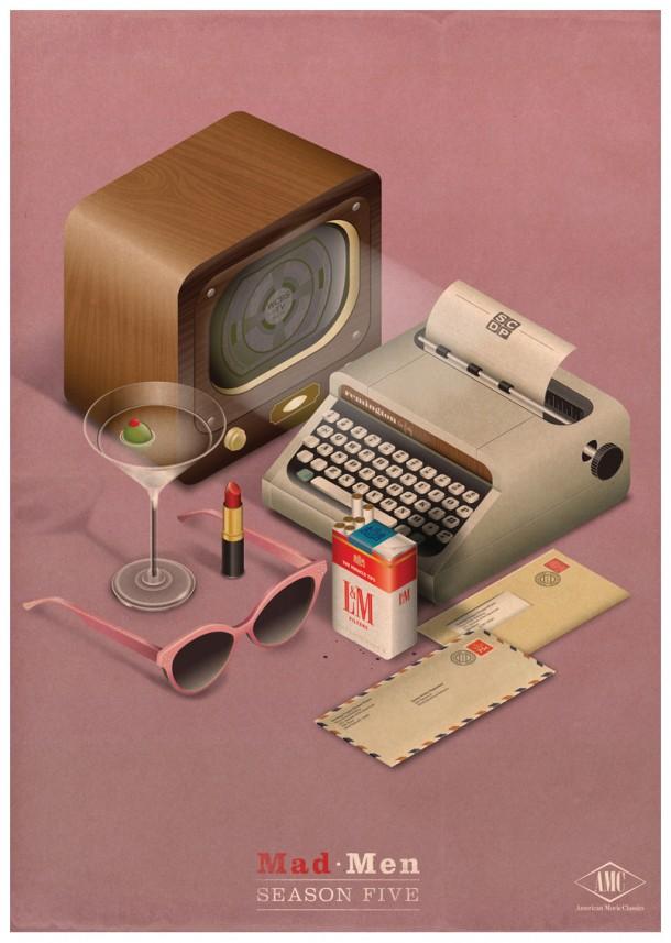 Vintage style illustrations by Radio
