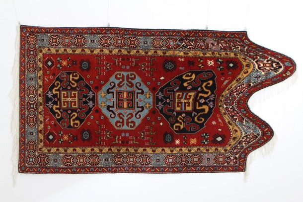 Deformed oriental carpets by Faig Ahmed
