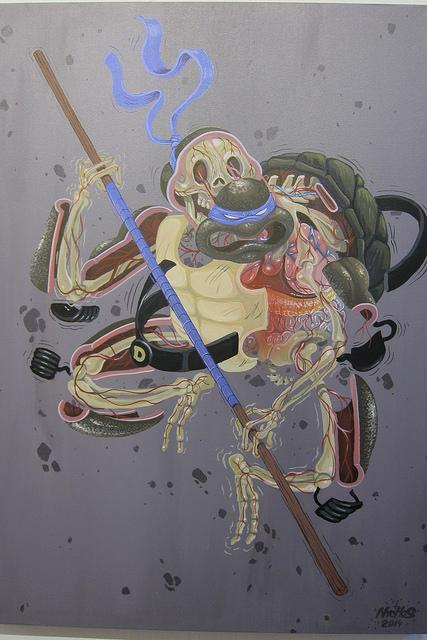 Ninja Turtles anatomy by Nychos