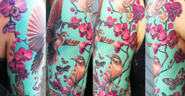Beautiful tattoos by Ellen Westholm