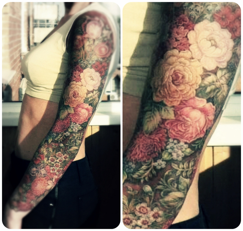 Beautiful examples of nature inspired tattoos (Vol. 1)