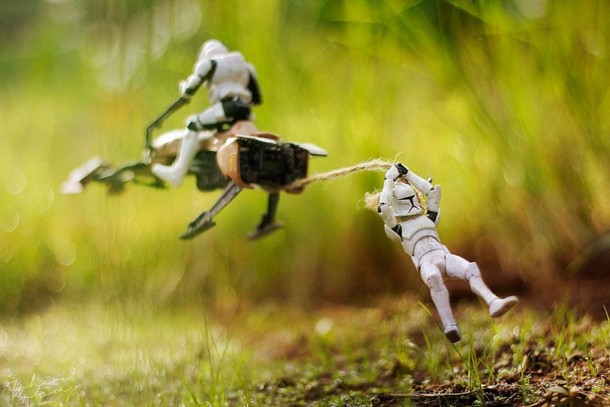 Star Wars miniatures photos by Zahir Batin