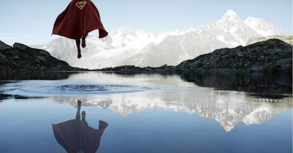 Outdoor Portraits of Superheroes by Benoit Lapray