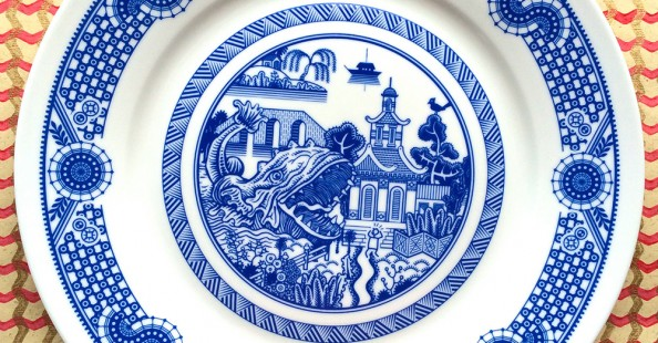 "(English) ""Calamityware"" a series of untraditional dishes by Don Moyer"