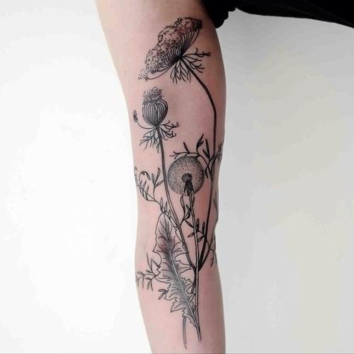 Ellen Greene tattoo