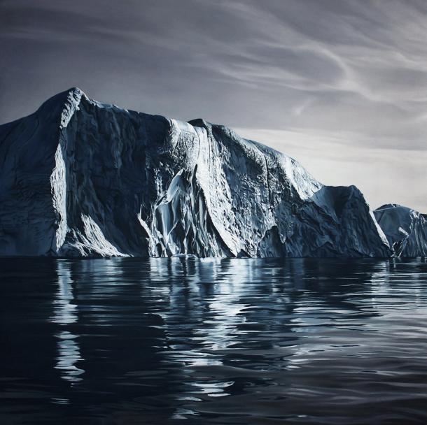 Hyperrealistic seascape drawings by Zaria Forman