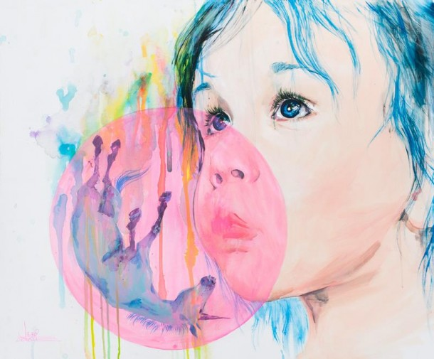 Beautiful watercolor drawings by Lora Zombie