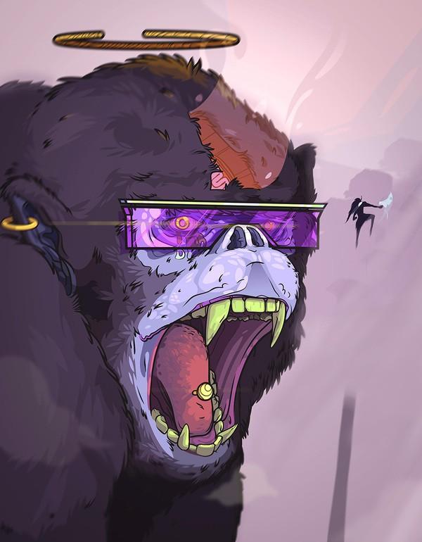 afro mono