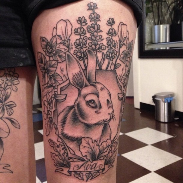 Nature/Floral Tattoos by Kirsten Holliday