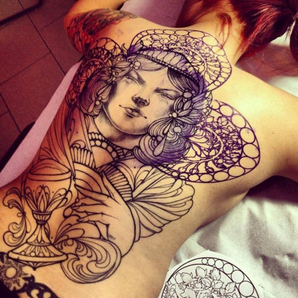 Stunning tattoos by Miss Juliet