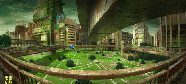 Post-apocalyptic Tokyo by Tokyogenso