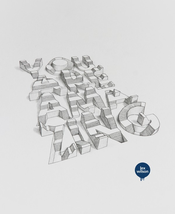 3D Typography by Lex Wilson (10)
