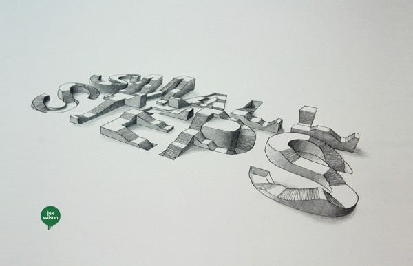 3D Typography by Lex Wilson (15)