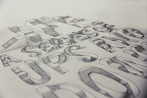 3D Typography by Lex Wilson (2)