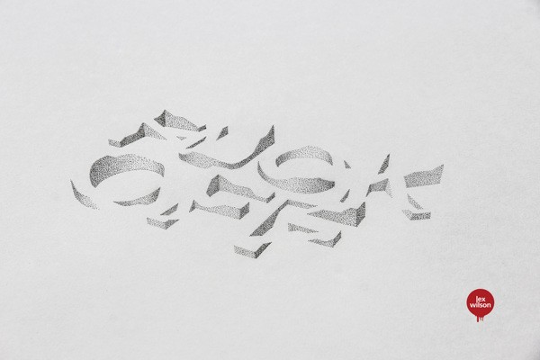 3D Typography by Lex Wilson (3)