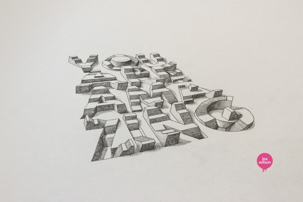 3D Typography by Lex Wilson (4)